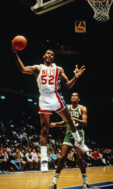Buck Williams, who played for the New Jersey Nets from 1981 to 1989.
