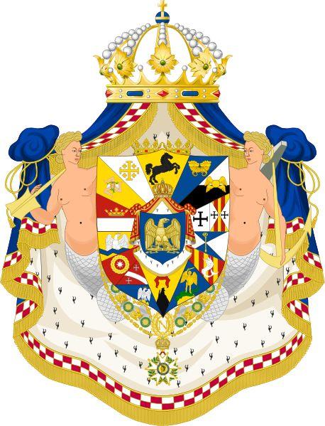 Fichier: Grandes armes du Royaume de Naples2.svg