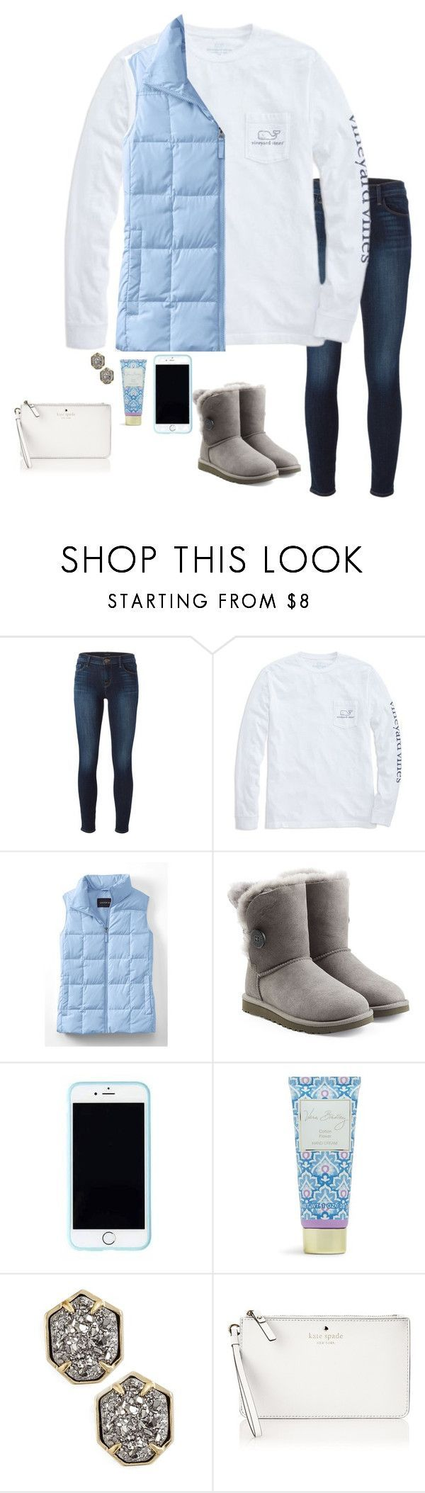 Untitled #153 by annakhowton ❤ liked on Polyvore featuring J Brand, Vineyard Vines, Lands' End, UGG Australia, Lilly Pulitzer, Vera Bradley, Kendra Scott and Kate Spade