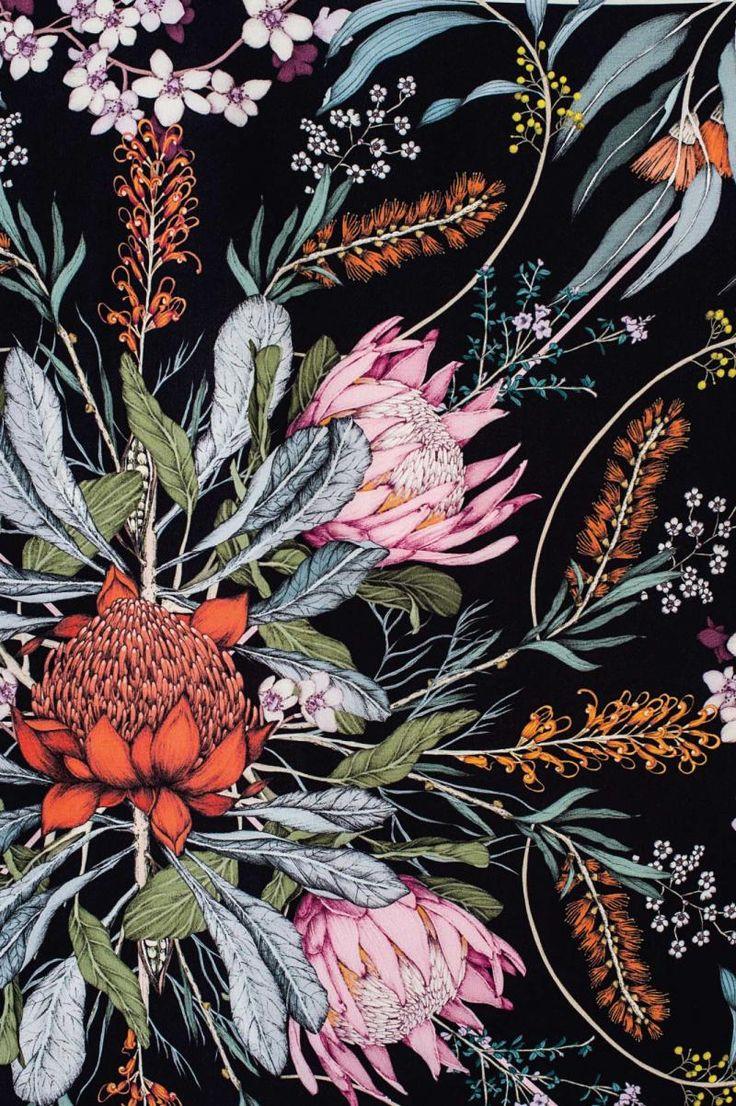 flower-scarf detail, Edith Rewa Barrett