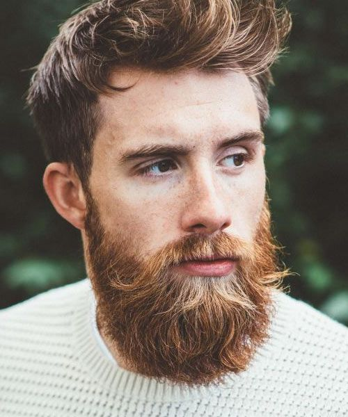 Tristan Harper's epic red beard