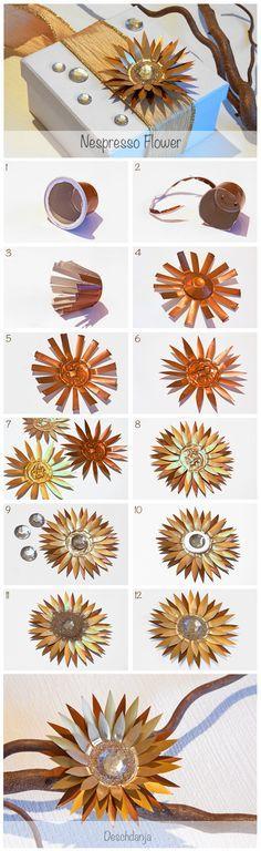 http://www.bkgfactory.com/category/Nespresso/ Nespresso Flower Tutorial