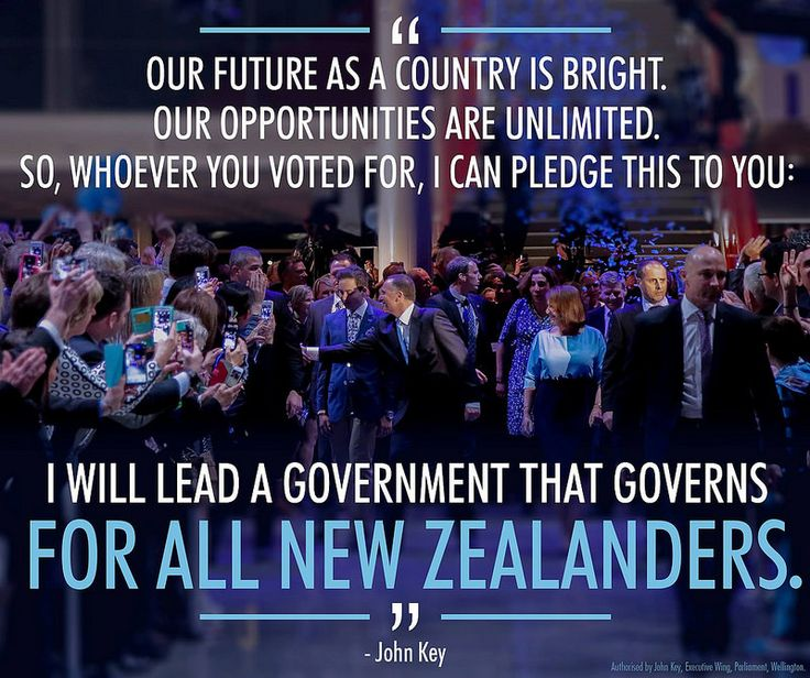 National will continue to work hard for all New Zealanders.