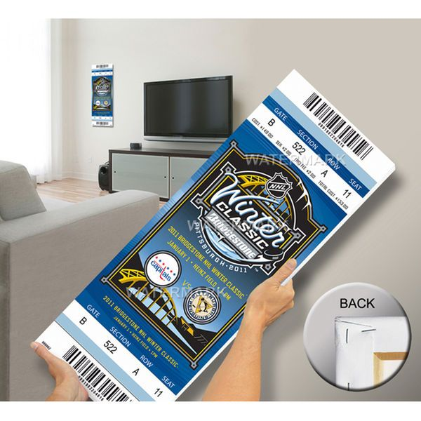 2011 NHL Winter Classic Mega Ticket - Capitals vs Penguins - $79.99