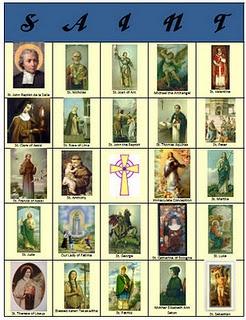 Printable All Saints' Day Games