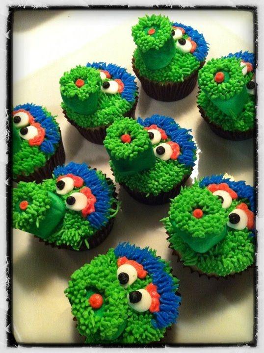 Philly Phanatic Cupcakes!!
