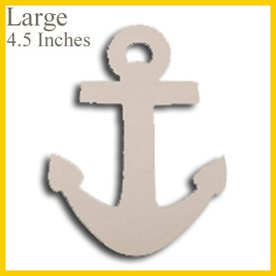 Wooden Anchor Cut Out