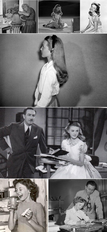 Kathryn Beaumont as Alice in Wonderland