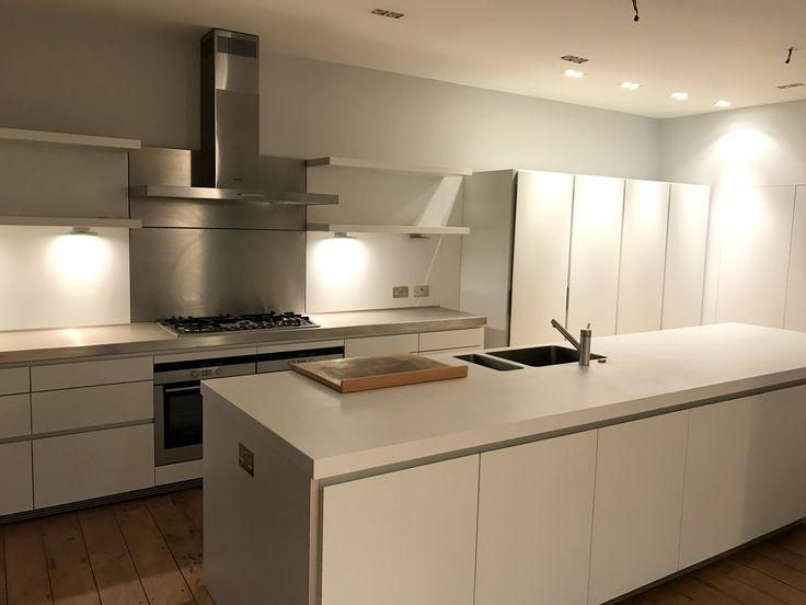 Approx 7yr Old Bulthaup Kitchen Island Worktops And Appliances Handleless Kitchen Kitchen