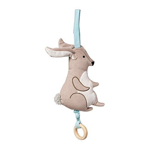 "Manhattan Toy Camp Acorn Bunny Musical Pull Baby Toy, 6"" x 2"" x 12"". For price & product info go to: https://all4babies.co.business/manhattan-toy-camp-acorn-bunny-musical-pull-baby-toy-6-x-2-x-12/"