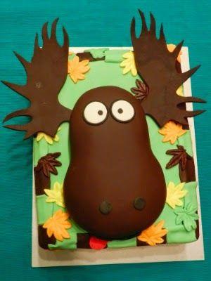 Moose cake / hirvikakku