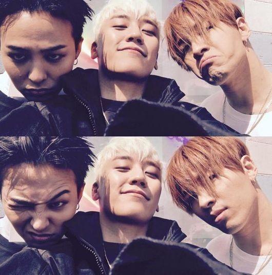 BIGBANGのG-DRAGON&V.I&SOL