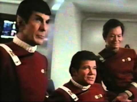 """Star Trek IV (The Voyage Home) blooper reel!  """"Well nobody's perfect"""" - Bones.  """"Oh yeah?"""" - Spock :P"""