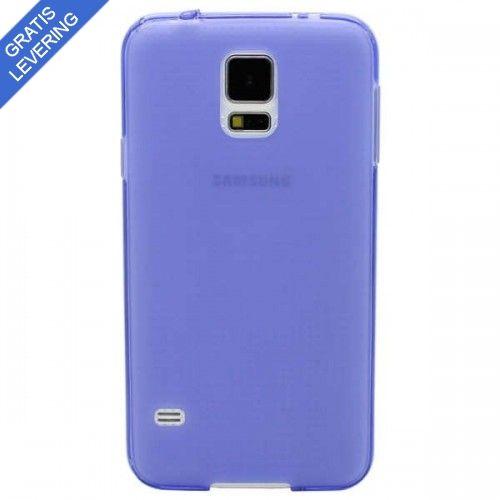 Lilla Samsung Galaxy S5 Cover - Frosted Design