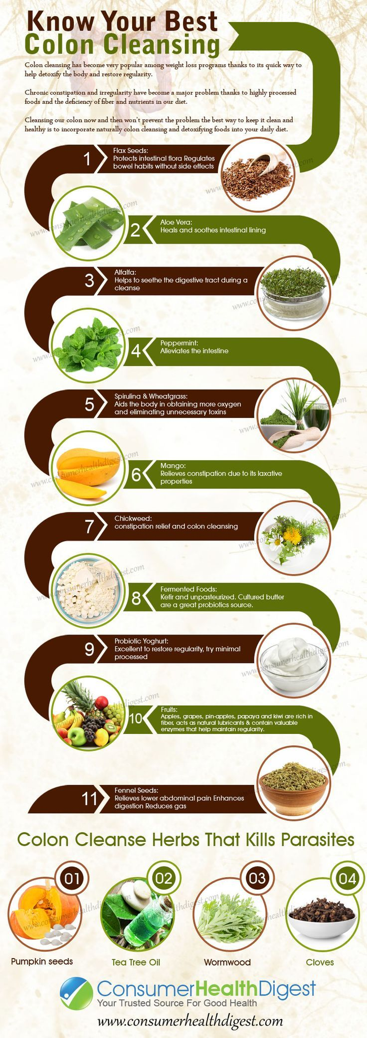 Know Your Best Colon Cleansing Foods.. For the best Colon Cleanse products check out our website | See more about Cleansing Foods, Colon Cleansers and Food.