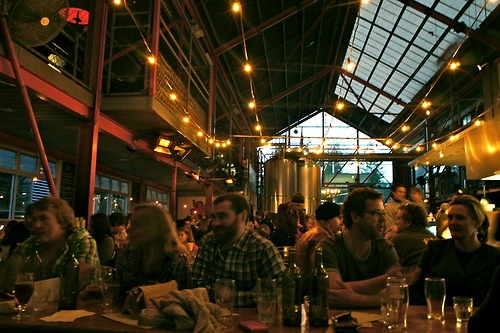 Little Creatures brewery, Fremantle.