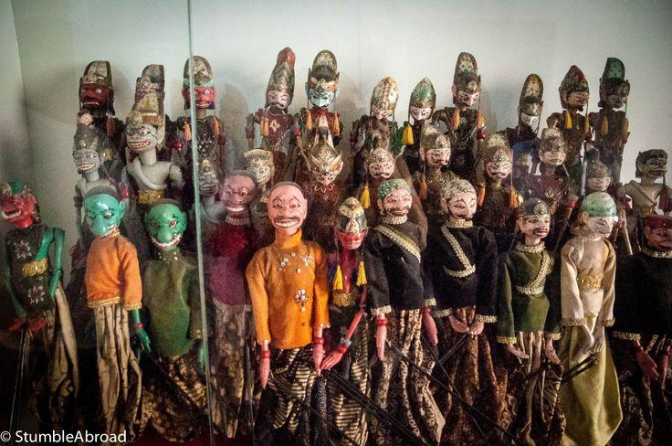 Puppets here, puppets there, puppets here and everywhere Jakarta Puppet Museum