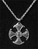 Canterbury Cross with 18-inch chain