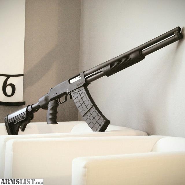 ARMSLIST - For Sale: Black Aces Tactical - Mossberg 500 Conversion Kit - ACCEPT SAIGA 12 MAGS!
