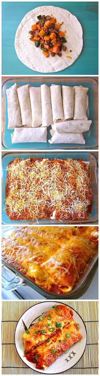Chorizo & Sweet Potato Enchiladas - A combination worth trying. Fed this to five people and everyone was in love with it. This will become a regular in the rotation.