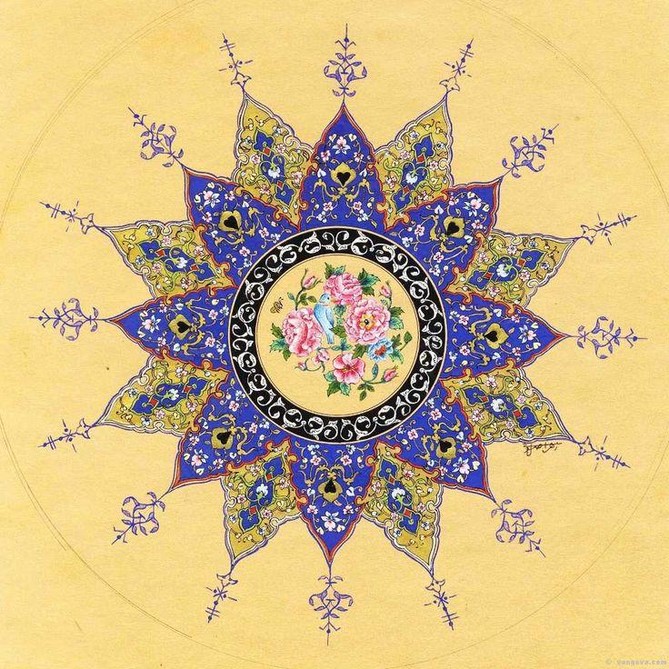 Iranian Mandala