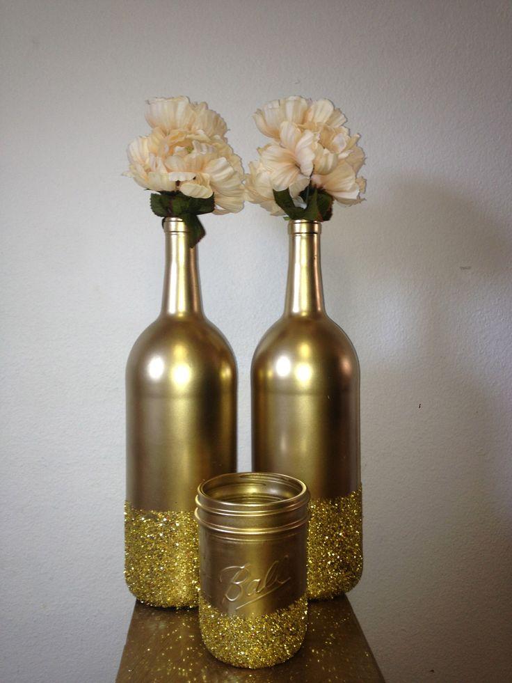 Ideas For Decorating Wine Bottles 66 Best Spray Paint Images On Pinterest  Primer Spray Paint