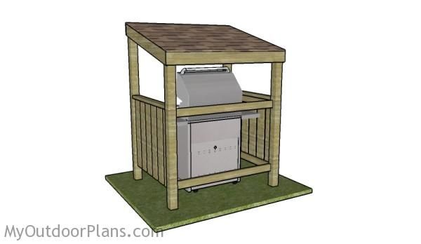 Bbq shelter plans outdoor pinterest other