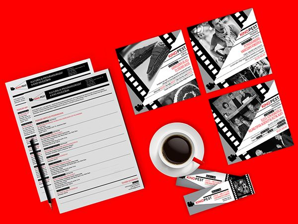 Kino Cafe - brand identity on Behance