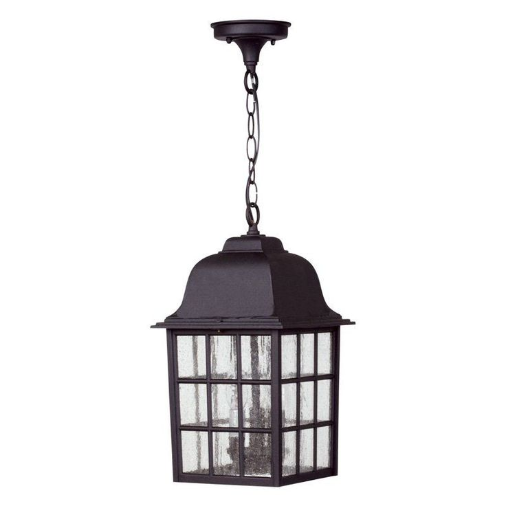 Exteriors By Craftmade Grid Cage Z571 Outdoor Pendant Light   Z571 05