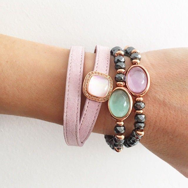 Esta es nuestra combinación de pulseras para el viernes    #marinagarciajoyas #welovejewels