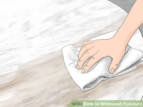 3 Ways to Whitewash Furniture - wikiHow