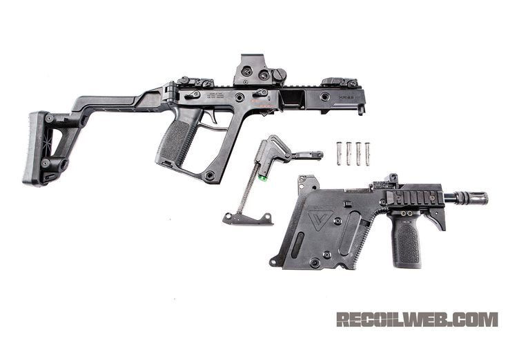 Read: Preview - KRISS 9mm CRB - Victor Vector from Steven Kuo on November 25, 2010 for Recoil.