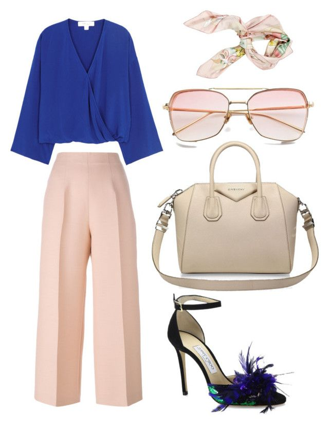 """Untitled #185"" by zsofi-szibilla on Polyvore featuring Diane Von Furstenberg, Fendi, Jimmy Choo, Givenchy and Hermès"
