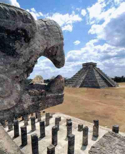 Mayan Temples.