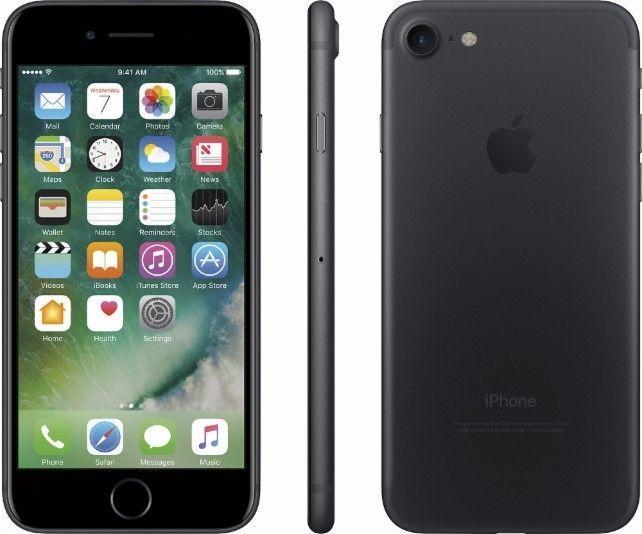 Apple iPhone 7 (Latest Model) - 128GB - Black Matte (T-Mobile) Smartphone | eBay