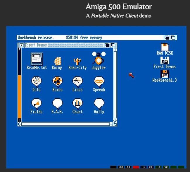 ¿Nostalgia de los 80? Prueba este emulador de Amiga 500 en Chrome