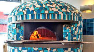 Resultado de imagen de mosaic wood fired pizza oven