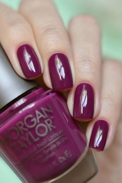 Morgan Taylor «Berry Perfection»