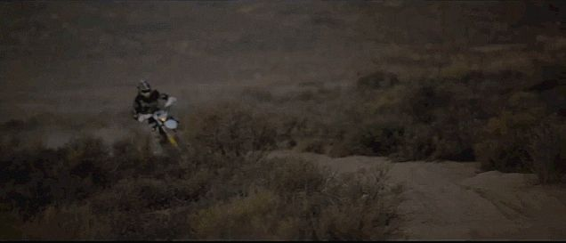 Watching This Dirt Biker Tear Through The Desert Will Make You Get Out And Ride