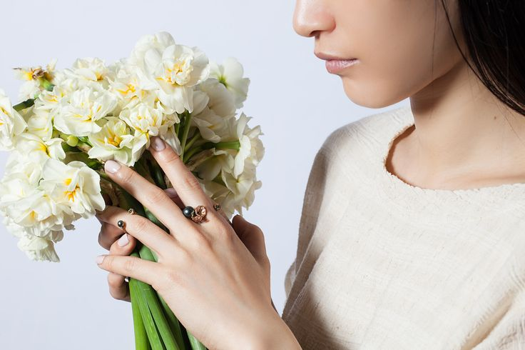 Advertising campaign for nature inspired jewellery