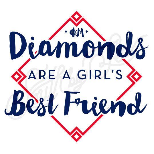 phi mu diamonds are a girls best friend sorority philanthropy tee shirt ideas - Designs For Shirts Ideas