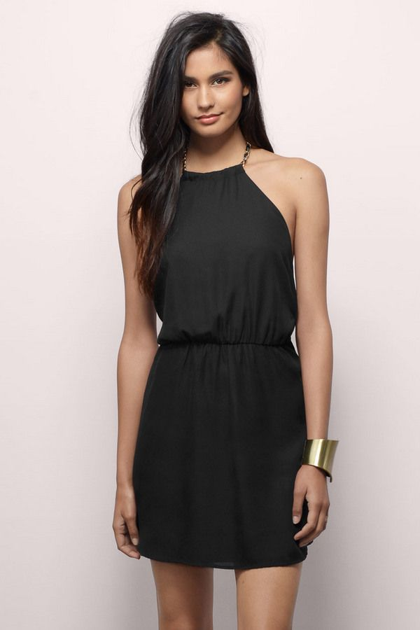 Find this and many more little black dresses at www.tobi.com | #SHOPTobi | #LittleBlackDress