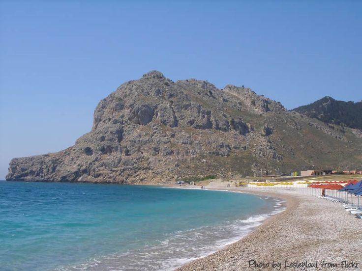 Kolymbia Beach, Rhodes, Greece