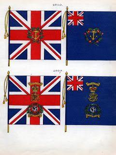 Pippoweb hobby blog: Royal Marines Flag (napoleonic wars)