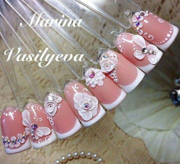 4930 best Diseños de uñas images on Pinterest | Fingernail designs ...