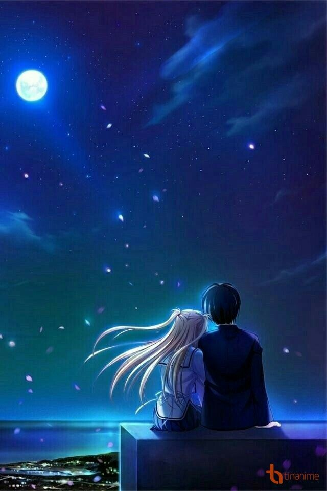Pin By Amy On Anime Cute Couple Wallpaper Anime Wallpaper Anime Love