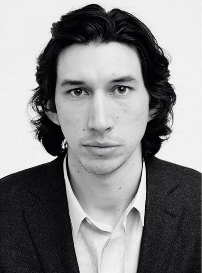 Adam Driver (1983) is an American actor. He rose to prominence in the supporting role of Adam Sackler in the HBO comedy-drama series Girls (2012–2017), for which he received three consecutive nominations for the Primetime Emmy Award for Outstanding Supporting Actor in a Comedy Series.  He obtained several best actor awards for his performance in Jim Jarmusch's Paterson (2016). and gained worldwide attention for playing the villain Kylo Ren in Star Wars: The Force Awakens (2015). (J. Corpuz)