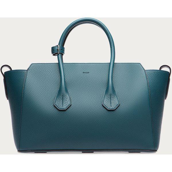 Bally SOMMET MEDIUM Women´s medium leather tote bag in Teal Women´s... ($1,795)…
