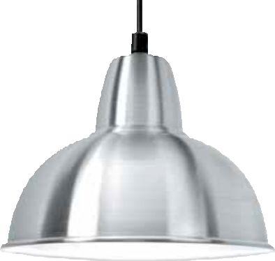 Spun Aluminium LED Fitting