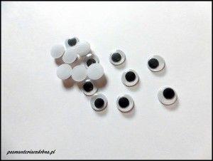 Oczy do zabawek 10mm - 2 sztuki